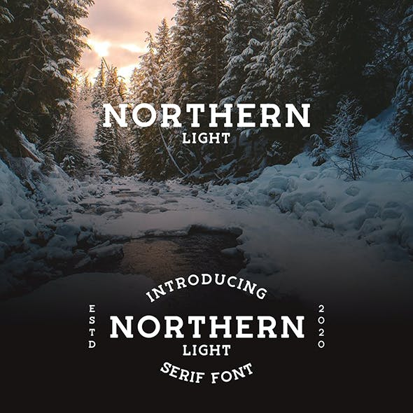 Northern Light - Serif Font