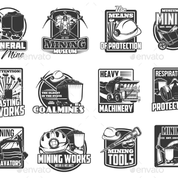 Coal and Ore Mining Equipment, Tools and Machinery