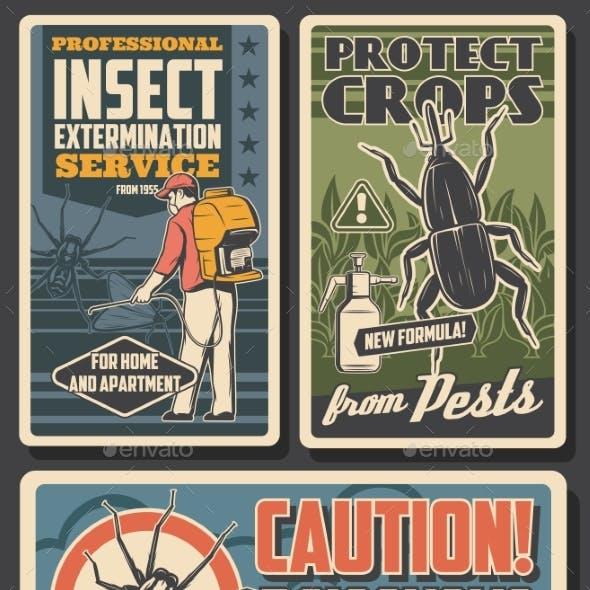 Pest Control, Insecticide Fumigation Service