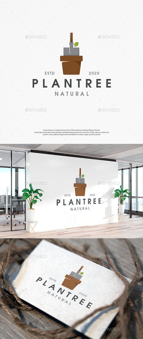 Plant a Tree Logo Design - Nature Logo Templates
