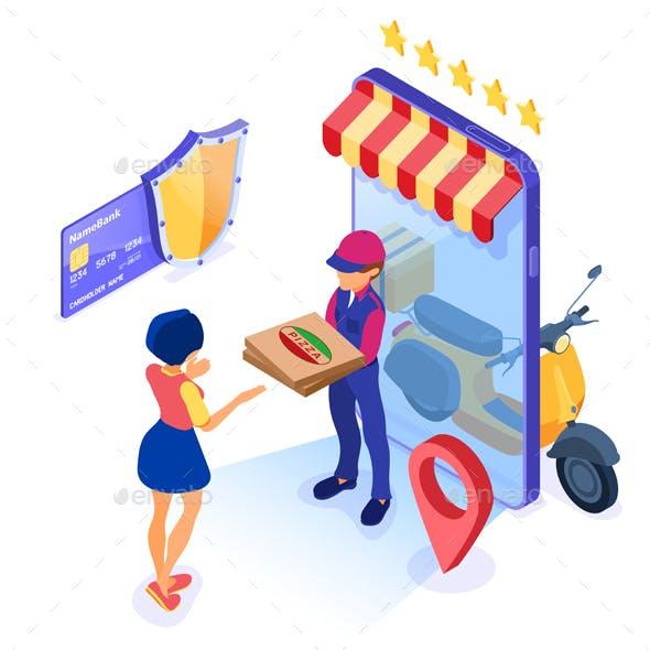 Online Food Order Delivery Service