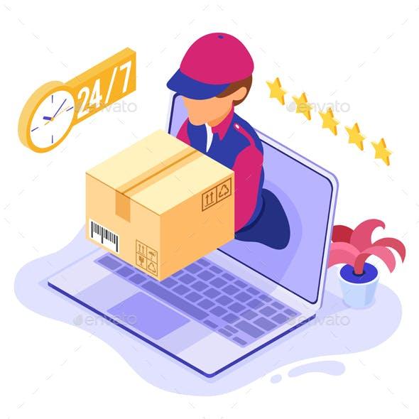 Online Order Delivery Service