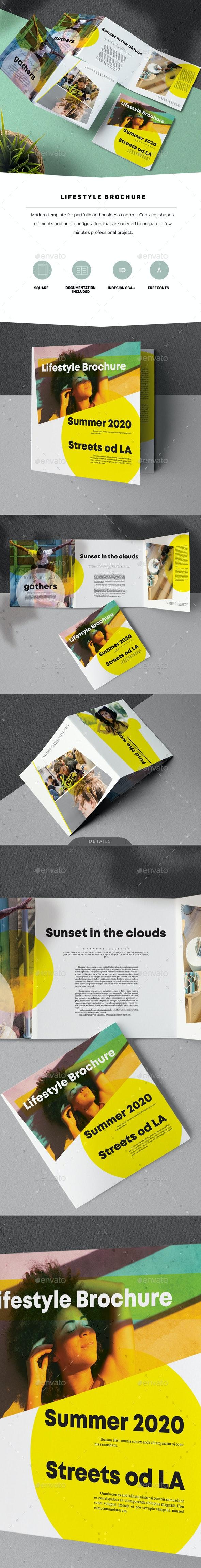 Lifestyle Brochure - Informational Brochures