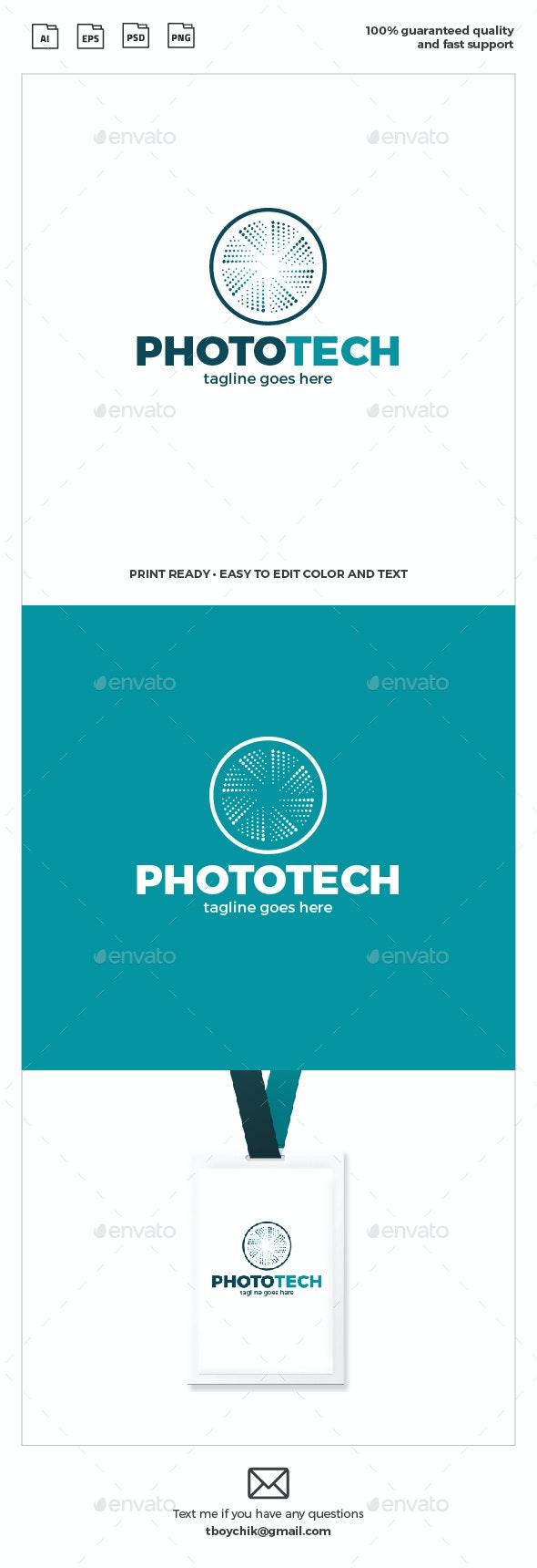 Photo Tech Logo - Symbols Logo Templates