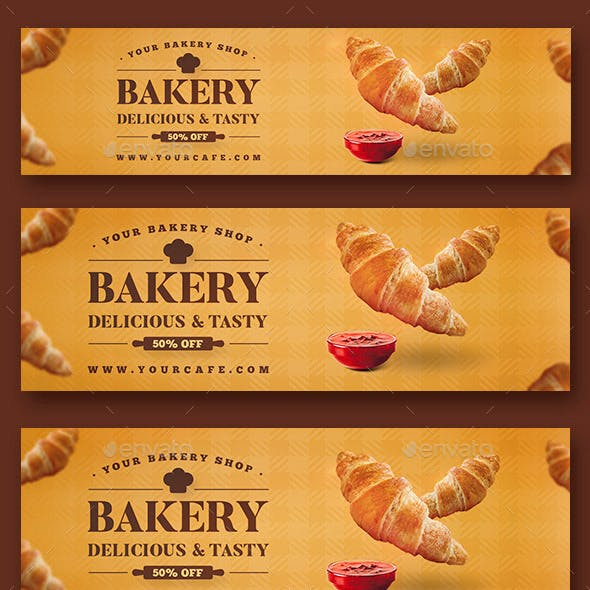 Bakery Web Sliders