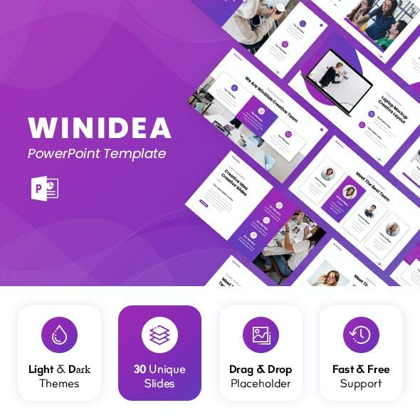 Winidea - Creative Powerpoint Template