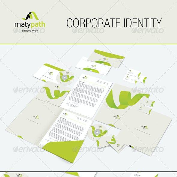 Maty Path Corporate Identity