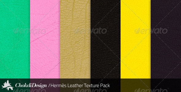 6 Hermès Leather Textures (High Definition) - Fabric Textures
