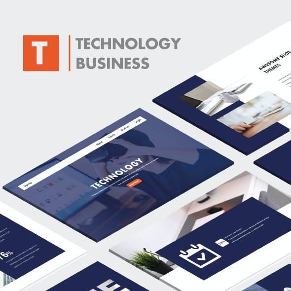 Technology Business Keynote Template