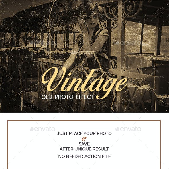 Vintage Old Photo Effect
