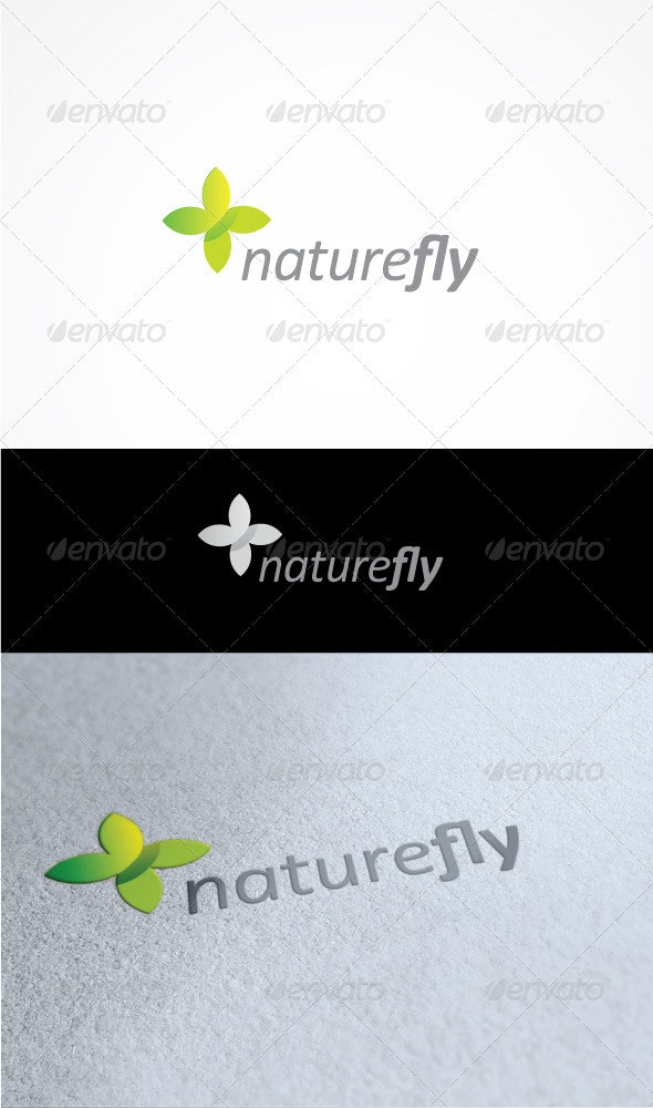 Nature fly - Nature Logo Templates