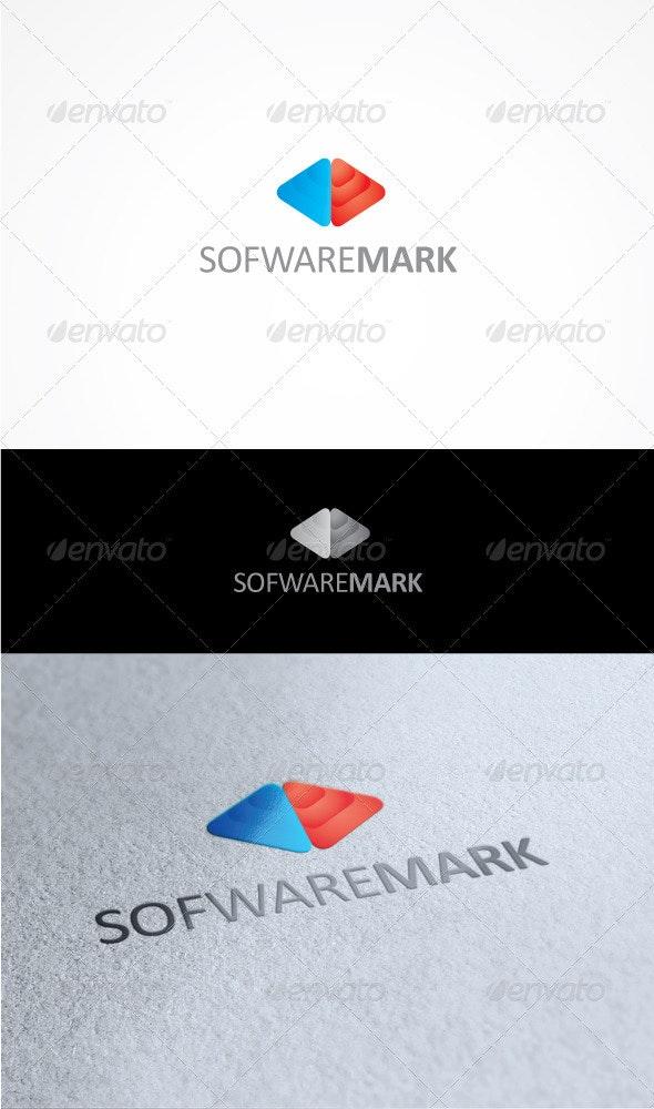 Software mark - Vector Abstract