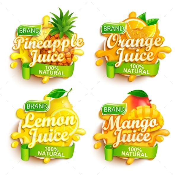 Set of Fresh Juices Logo