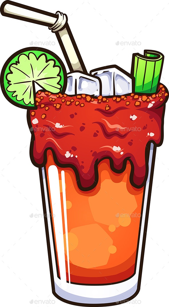 Mexican Michelada Drink - Food Objects