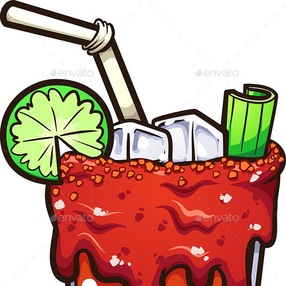 Mexican Michelada Drink