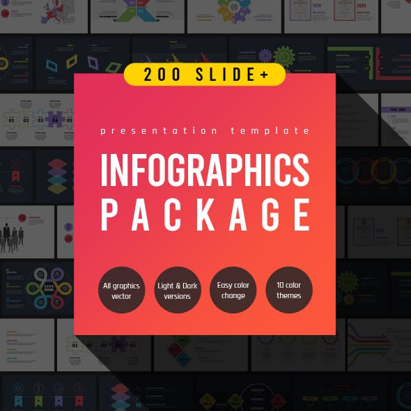 Infographics Package - Powerpoint Template