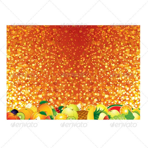 Bright Fruits Background