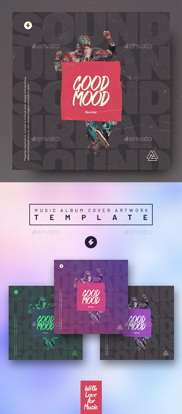 Good Mood - Music Album Cover Artwork Template - Miscellaneous Social Media