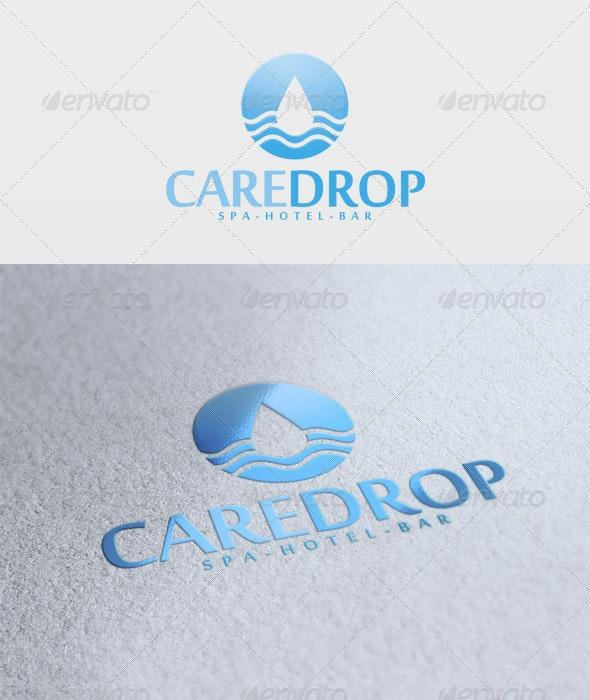 Care Drop Logo - Nature Logo Templates