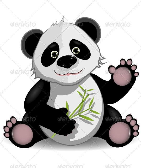 funny panda - Animals Characters