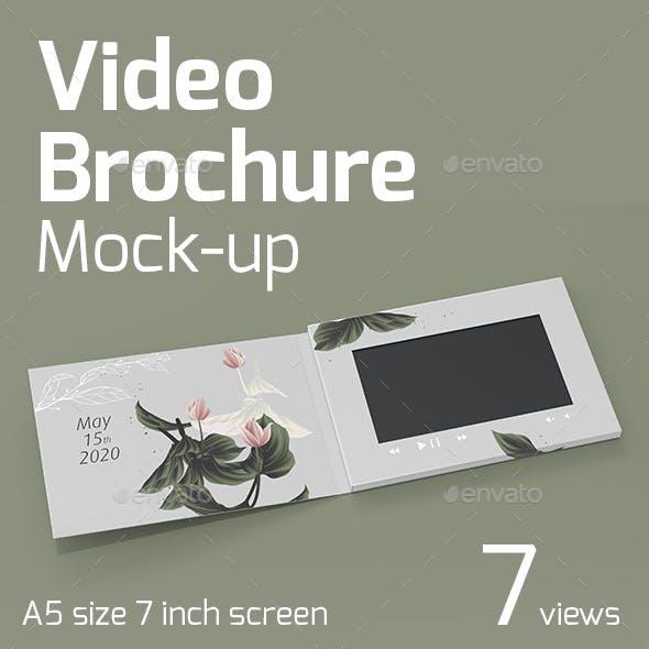 Video Brochure Mock-Up