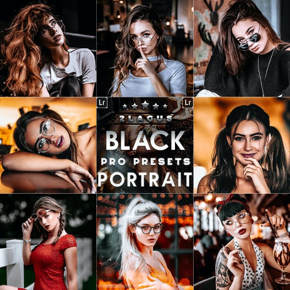 Black Tones Portrait Lightroom  Prestes