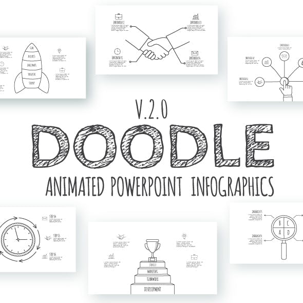 Doodle Animated Infographics Presentations v.2.0