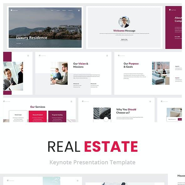 Real Estate Keynote Presentation