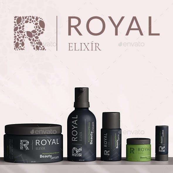 Premium Skincare Product Labels