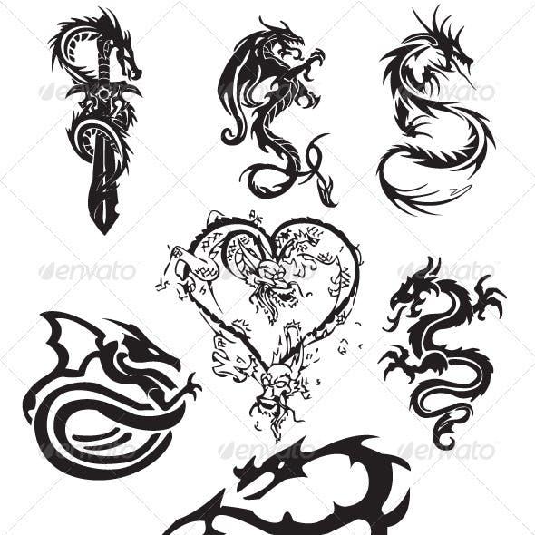 Dragon Tattoo Pack