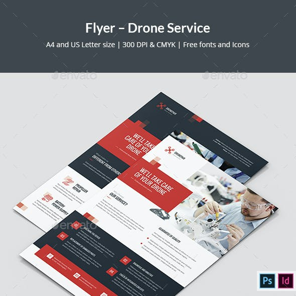 Flyer – Drone Service