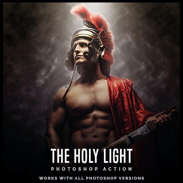 The Holy Light - Premium Photoshop Action