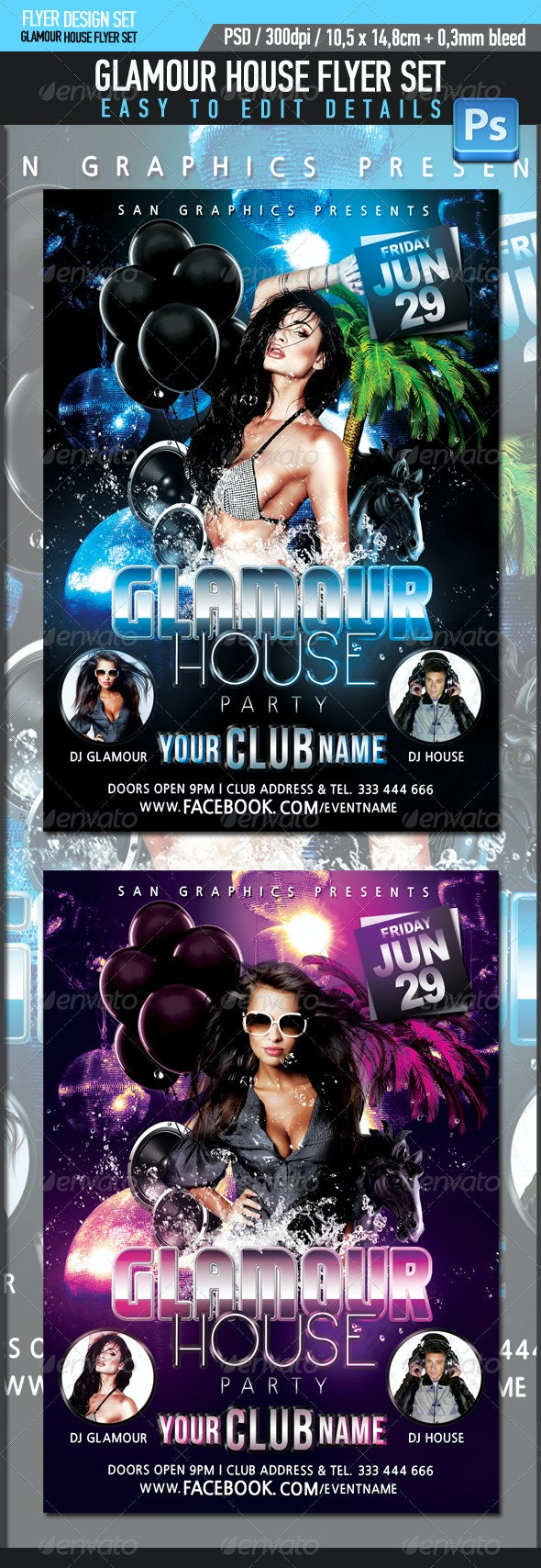 Glamour House Party - Clubs & Parties Events