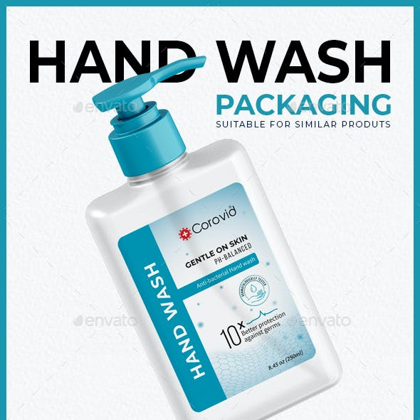 Hand Wash Packaging