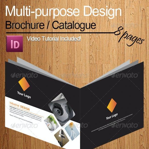 A5 Multi purpose Brochure/Catalogue