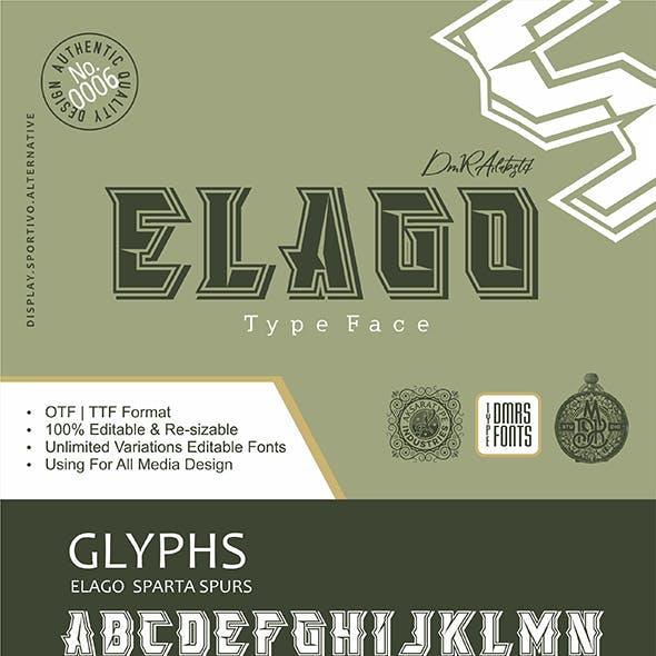 Elago Fonts