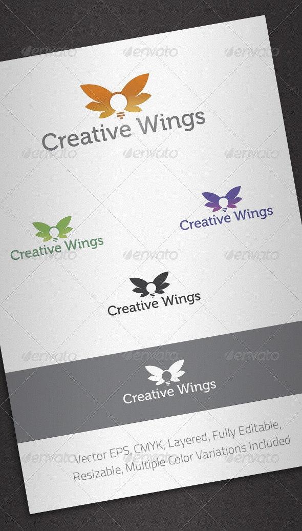 Creative Wings Logo Template - Abstract Logo Templates