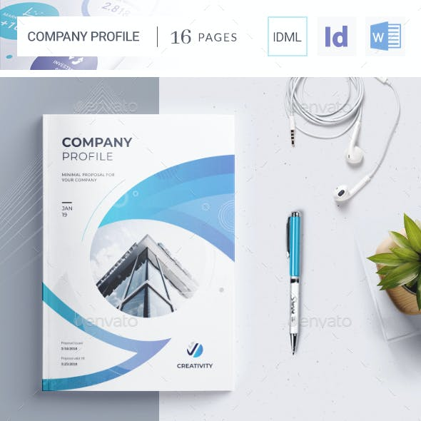 The Company Profile Word Template
