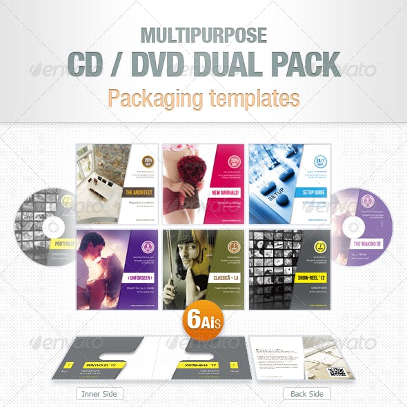 Multipurpose CD / DVD Dual Pack