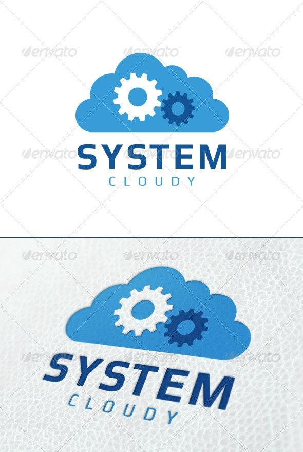 System Cloud - Symbols Logo Templates