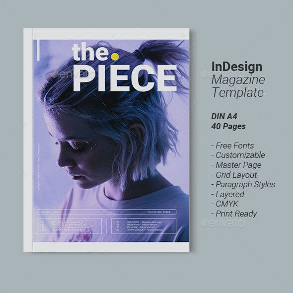 Magazine Template | Piece