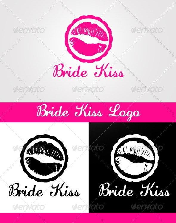 Bride Kiss Logo - Humans Logo Templates