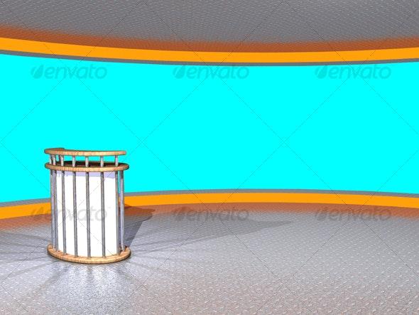 3D-TV_Studio_E_01 - Business Backgrounds
