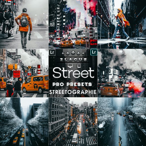 Streetographie - Cinematic Lightroom Presets