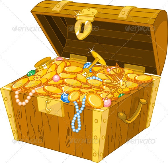 Treasure Chest - Objects Vectors