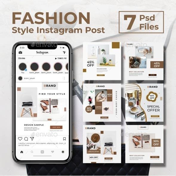 Fashion Style Instagram Post