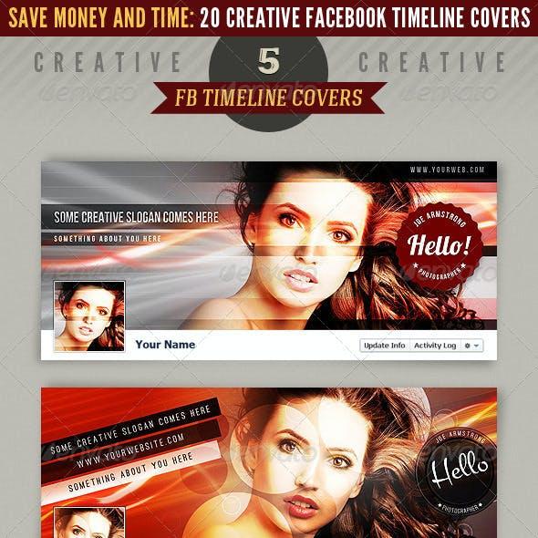 20 Facebook Timeline Covers Bundle