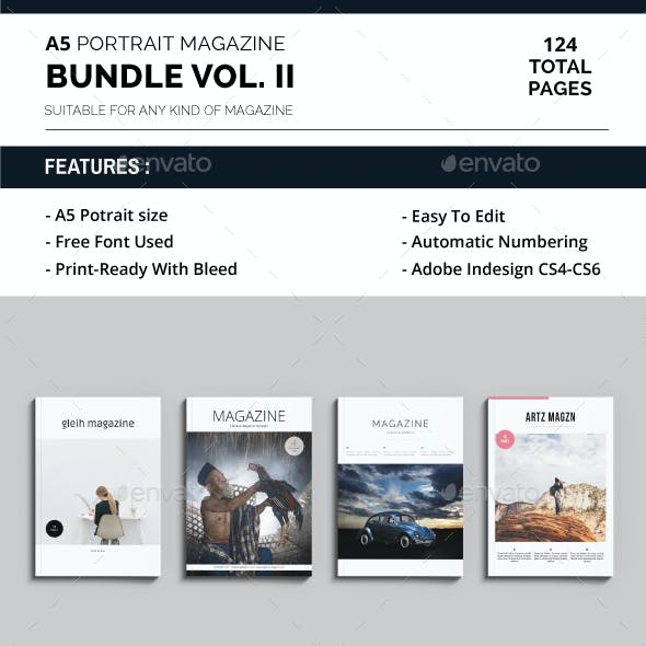 A5 Magazine Bundle Vol. II