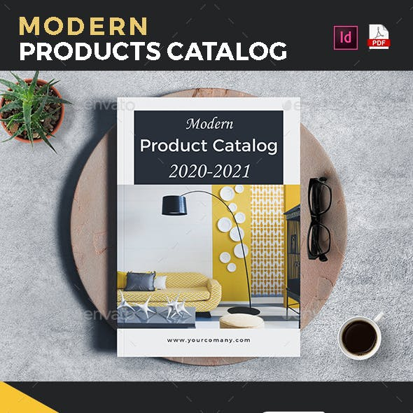 Modern Products Catalog