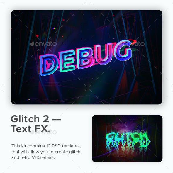 Glitch 2 - Text FX